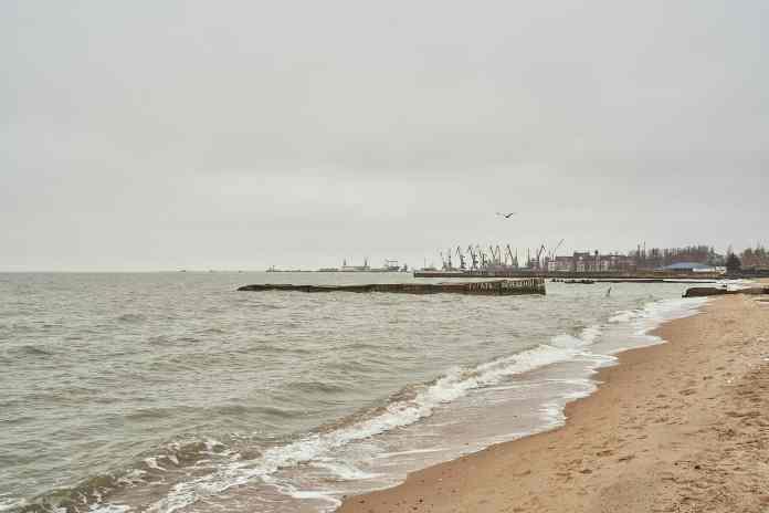 Mariupol beach