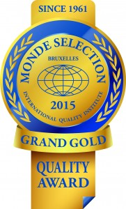 Monde Selection - Grand Gold Quality Award 2015