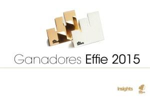 Ganadores EFFIE 2015