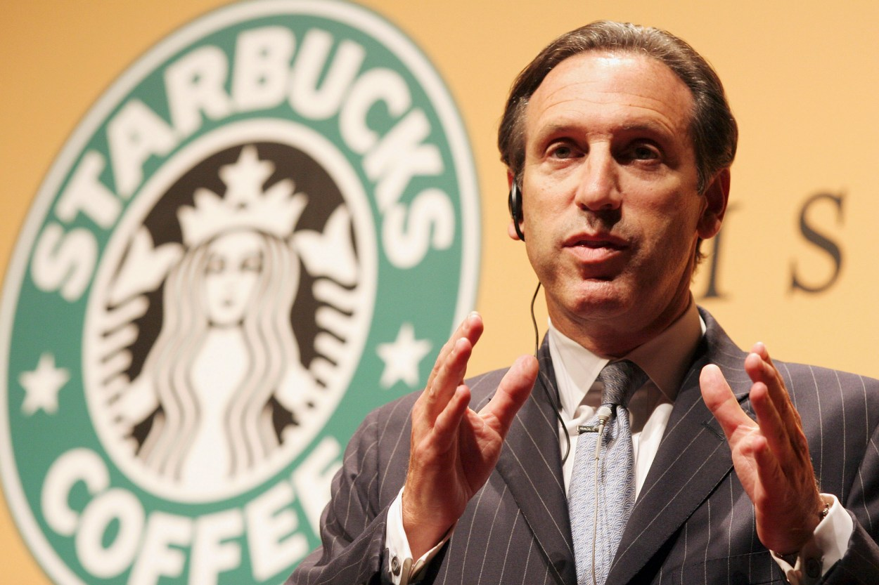 El CEO de Starbucks.