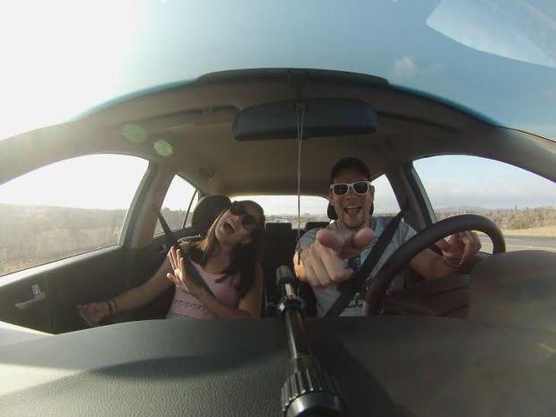 Andrés Granja y Samantha Coronel.