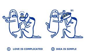 Ikea apuesta por el humor en este San Valentín.