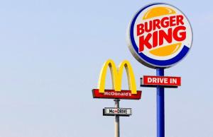 Burger King respondió a McDonald's con creatividad y fuerza.