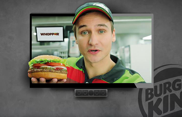 burger king marketer of the year
