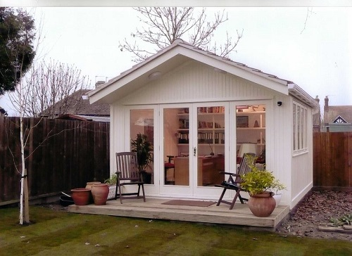 Have a backyard office