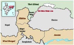 china claim line