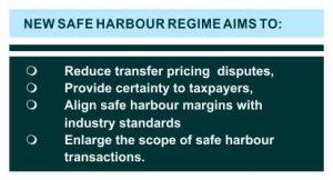 safe harbour regime