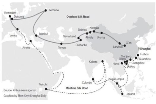 silk route china