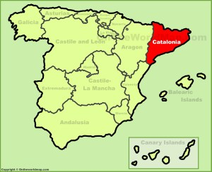catalonia-location-on-the-spain-map