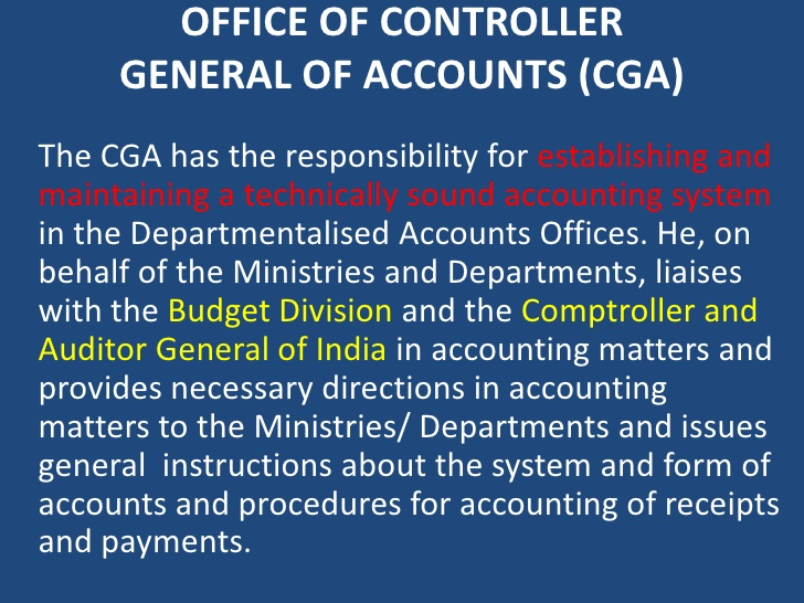 controller general of accounts