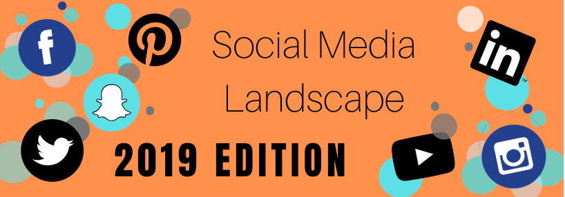Social Media Landscape in 2019 (Infographic)