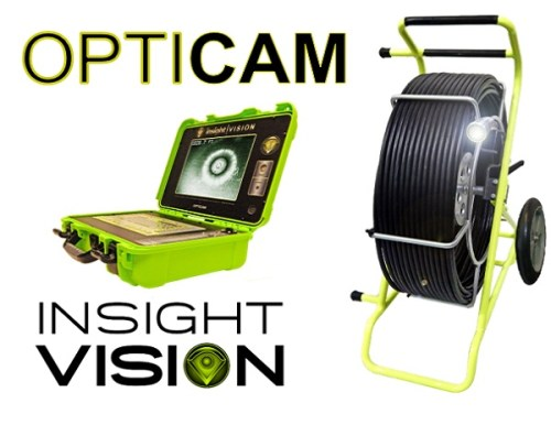 Complete Sewer Push Camera Inspection System opticam
