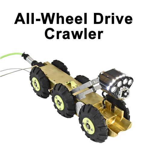 All Wheel Drive Crawler
