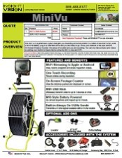 Mini Vu Spec Sheet