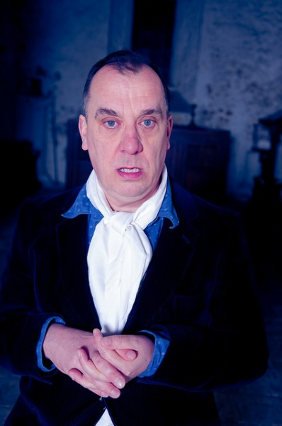 in situ:'s Richard Spaul in full Ghost Story-telling regalia