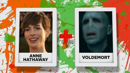 Anne Hathaway + Voldermort