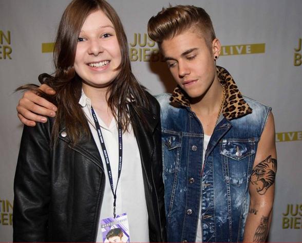 amor de Justin Bieber pelas fãs 02
