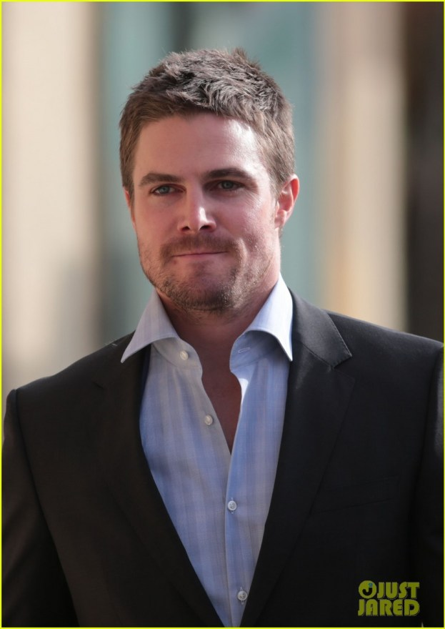 Exclusive... Stephen Amell On The Set Of 'Arrow'