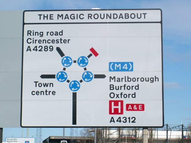 The magic roundabout 2