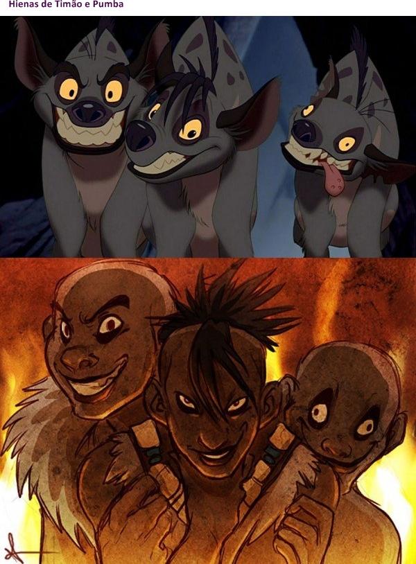 animais da Disney versão humana 02