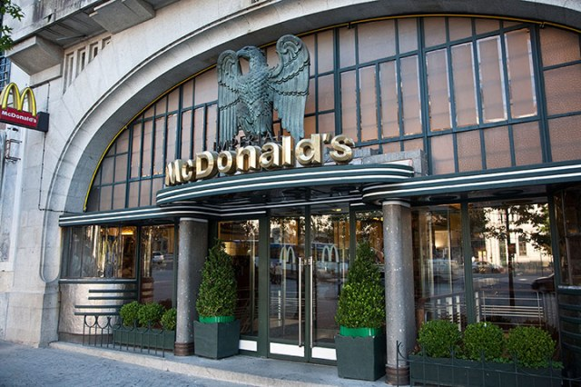 Mc Donald's in Porto, Portugal