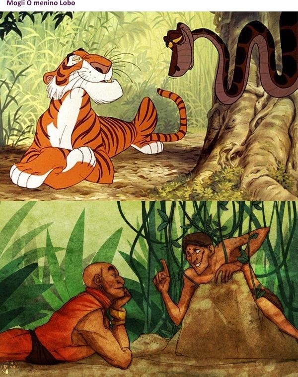animais da Disney na versão humana