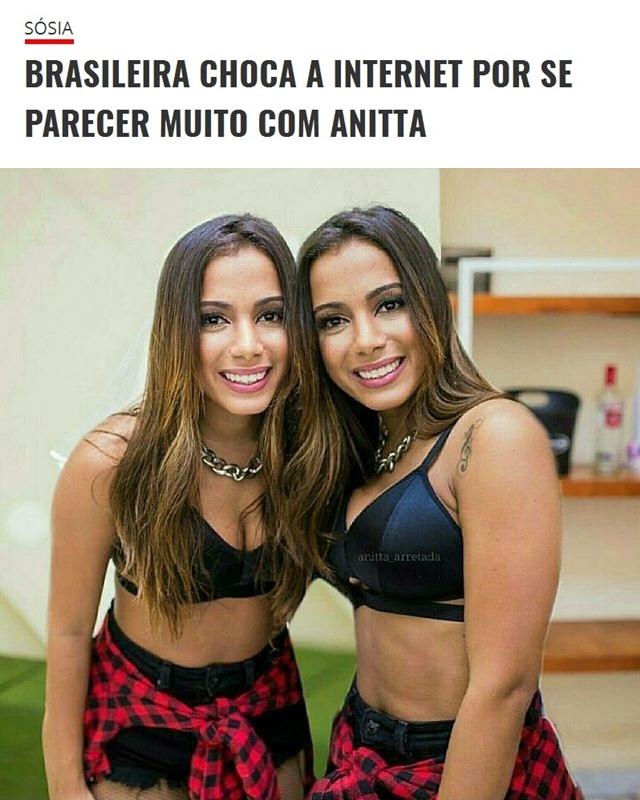 Anitta e Sósia