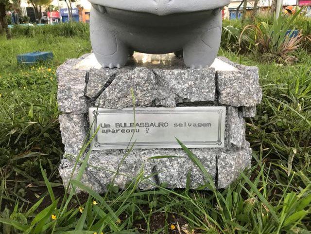 Estátua do Bulbassauro