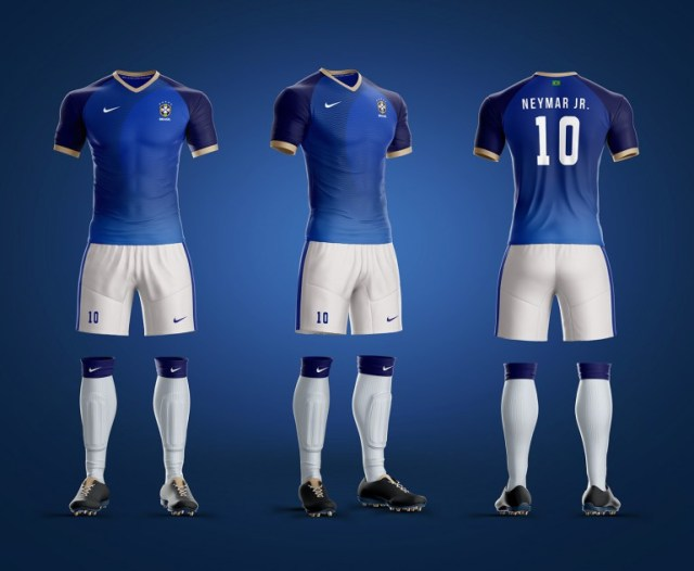 uniforme da seleção