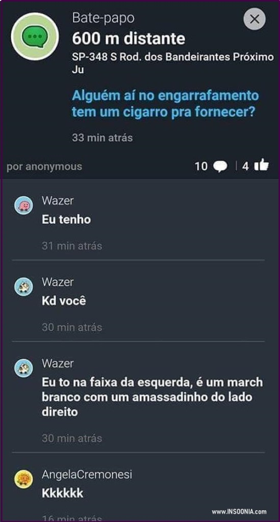 chat do Waze