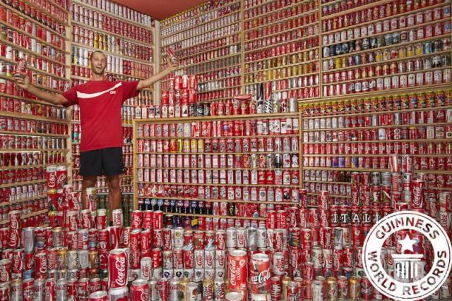 coleções de lata