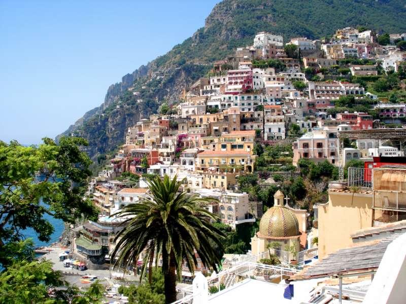 POSITANO AMALFI COAST CAMPANIA SOUTH ITALY HOLIDAYS