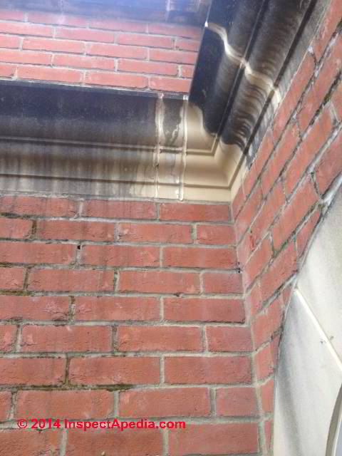 Stone  Stucco Stain Diagnosis  Cure