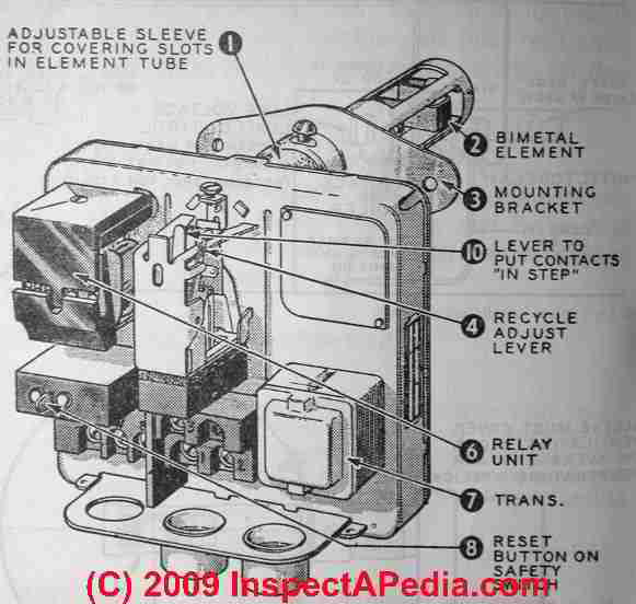 boilers wiring diagram and manuals for 13 pin trailer plug stack relay switches on oil fired boilers, furnaces, water heaters: honeywell ra116a / ra117a ...