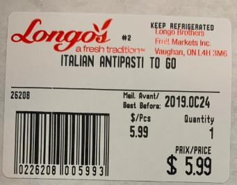 Italian Antipasti to Go