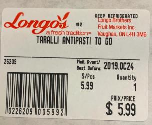 Taralli Antipasti to Go