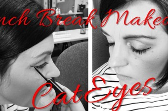 Lunch Break Makeover: Running-Late Liner Trick