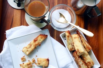 Toffee Nut Biscotti & A Fresh Brew with Anchor Coffee Co.