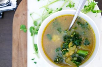 Slow & Slender : Kale and Watercress Soup