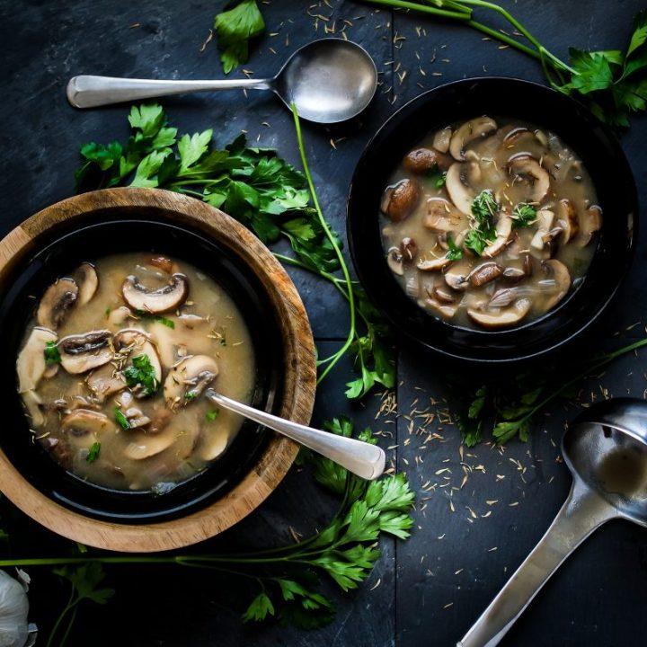 Easy Portobello Mushroom Soup