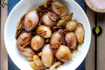 Shallot Had Them Apple Bottom Meads: Apple Mead Glazed Shallots