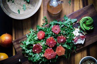 Salads That Don't Suck-Blood Orange & Arugula Salad