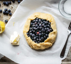 Gluten Free Blueberry Galette-2366