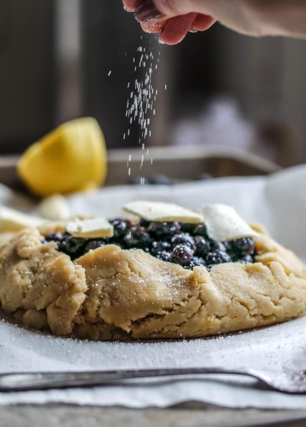 Gluten Free Blueberry Galette-2414