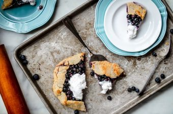 Lemon Blueberry Galette {Low Carb & Gluten Free!}