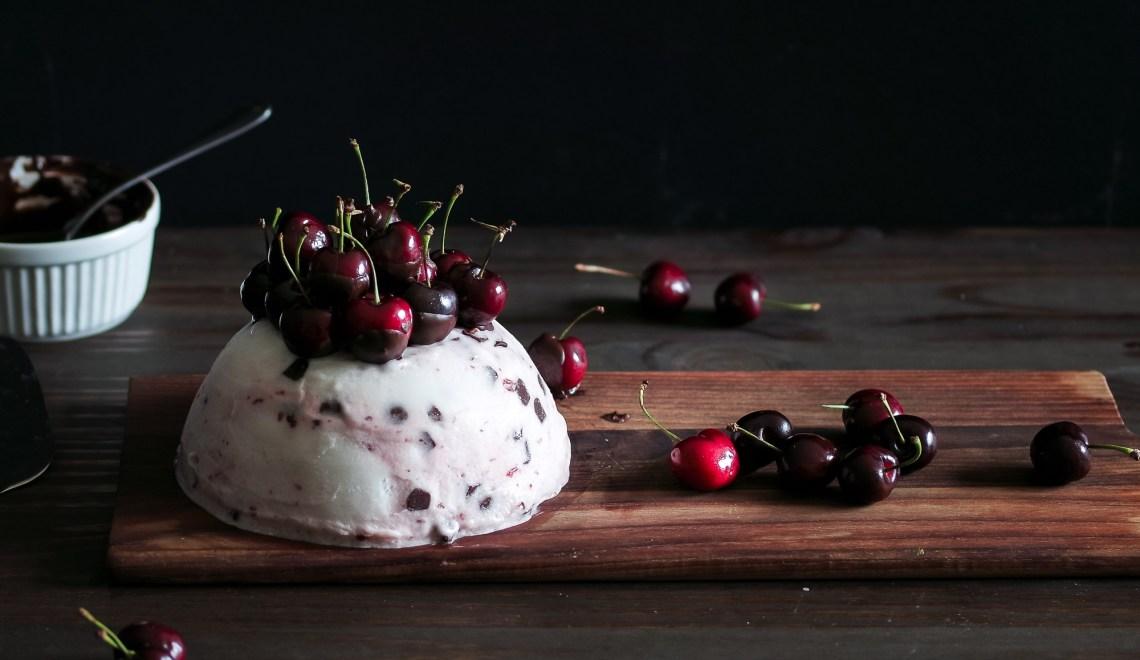 Cherry Chocolate Ice Cream Cake -4014