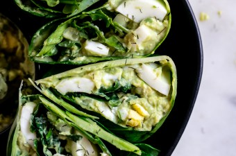 Green Goddess 🥑 Avocado Egg Salad Wrap