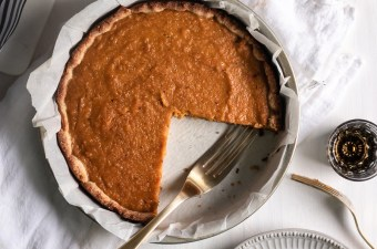 Butternut Squash Pie 🥧 with Bourbon & Brown Butter! {Low Carb & Gluten Free}