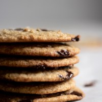 Chewy Chocolate Chip Slam Cookies 🍪 {GF & Low Carb}