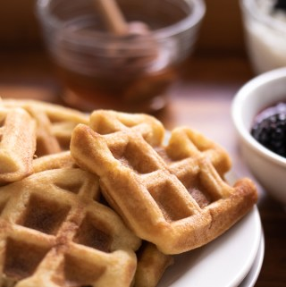 Soft & Tender Classic Low Carb Waffles